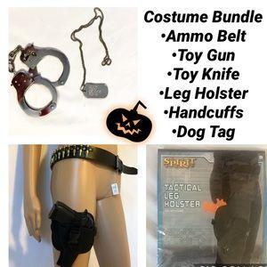 SWAT Police Tactical Accessories Costume Bundle